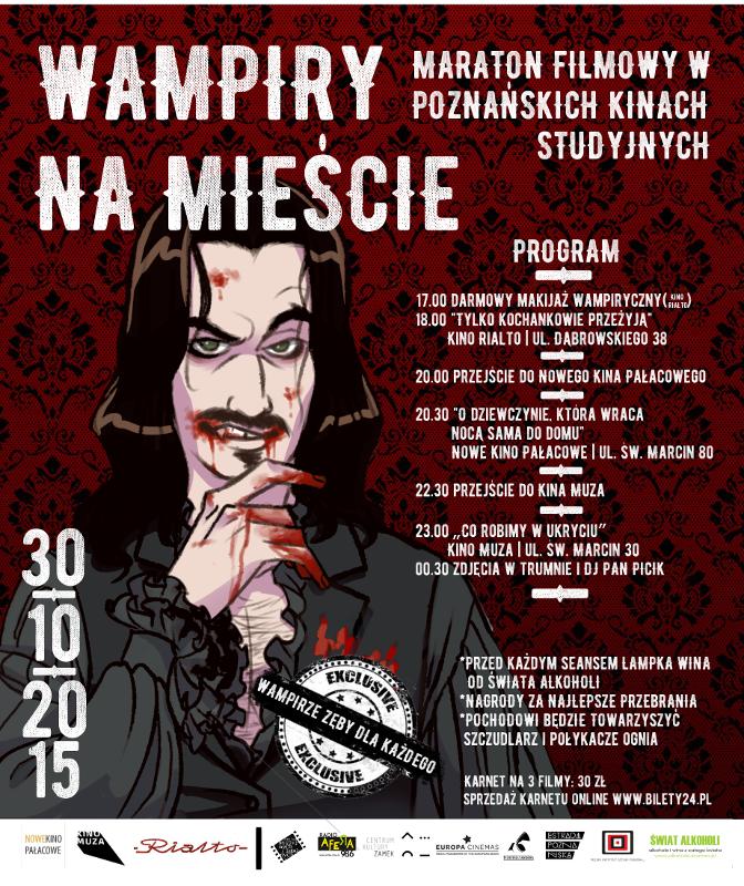 Wampiry namieście_30.10.2015_Poznan_plakat_net
