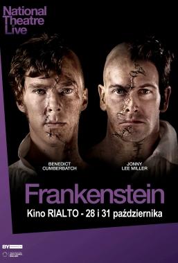 NT Live: Frankenstein – Benedict Cumberbatch wroli Frankensteina – 31.10, godz.20:00
