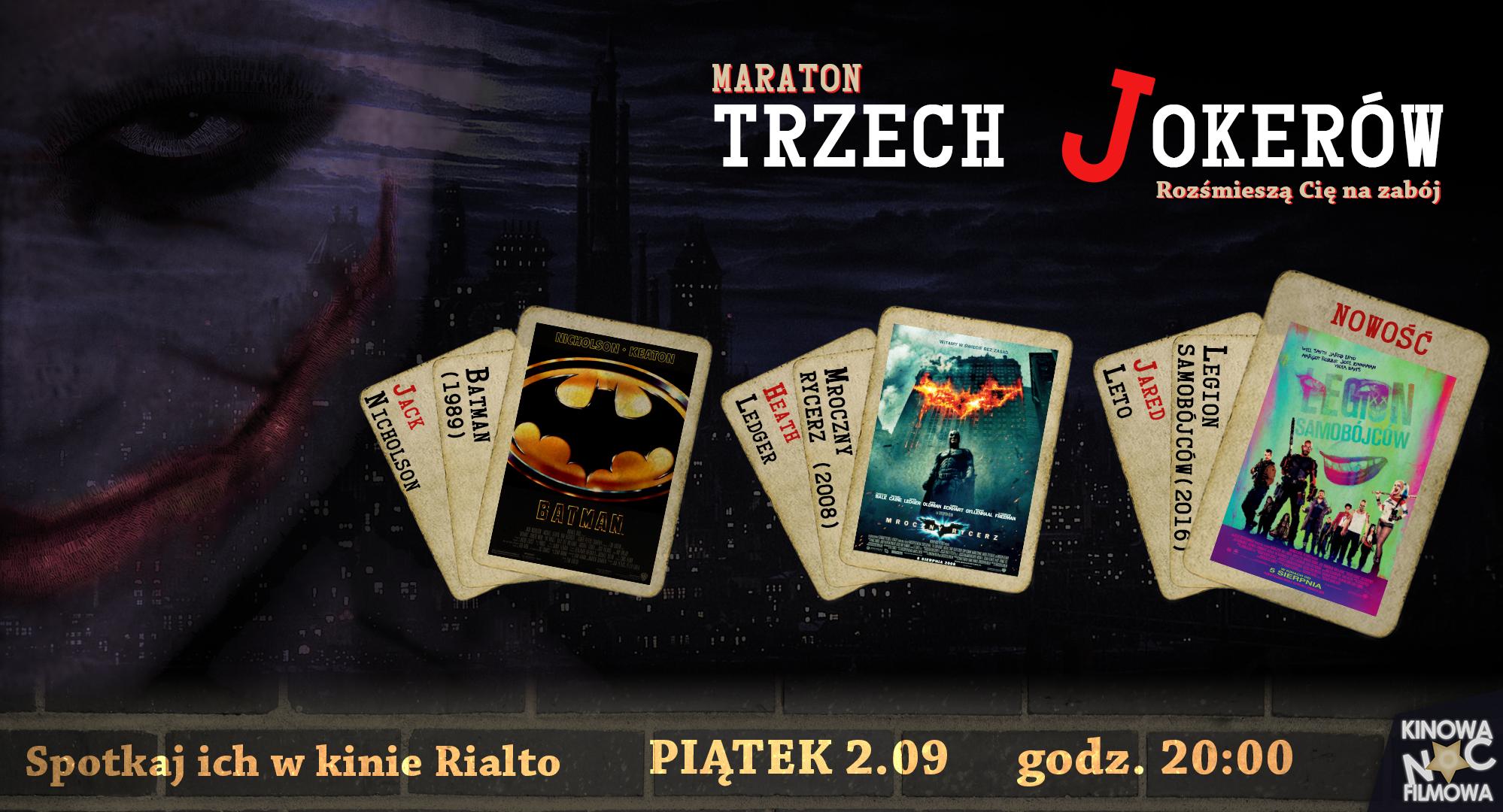Rialto Trzech jokerow - grafika