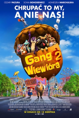 Gang Wiewióra 22D dubbing – od18.08