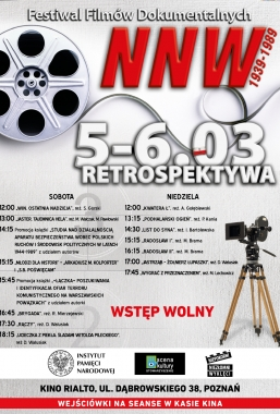 Retrospektywa Festiwalu Filmów Dokumentalnych 5–6.03