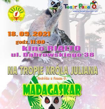 MADAGASKAR PANA O. – spotkanie podróżnicze dla dzieci