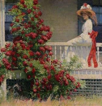 """Wogrodzie artysty malarza. Amerykański impresjonizm"""" zFlorence Griswold Museum wOld Lyme (Connecticut) – Wystawa naekranie, 13.05, godz.15:00"""