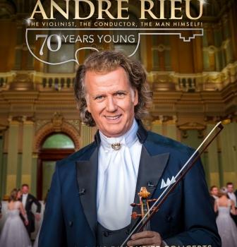 Andre Rieu –  70 lat młodości –  15.01, godz.17:00 oraz19.01, godz.15:30
