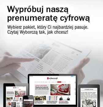 3 – miesięczna prenumerata Gazety Wyborczej online – dobiletu. Zapytaj wkasie.