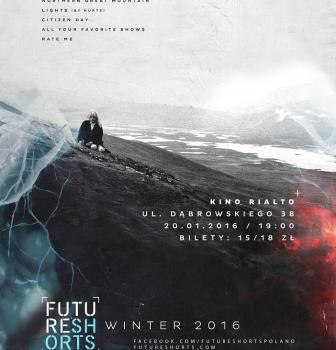 FUTURE SHORTS WINTER SEASON 17.02,  GODZ.19:00